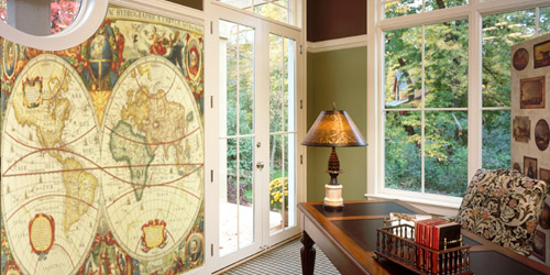 home office murals