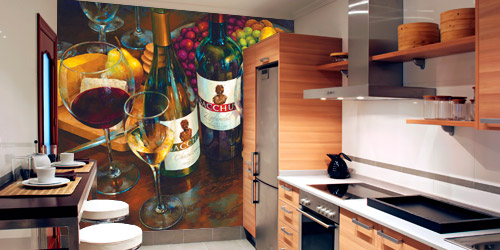 kitchen murals