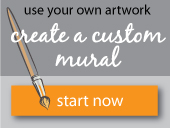 create custom business mural