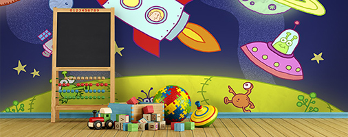 daycare murals murals your way stylish home design ideas daycare center decorations