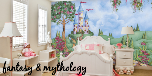 fantasy and mythology murals