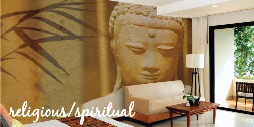 religious and spiritual murals